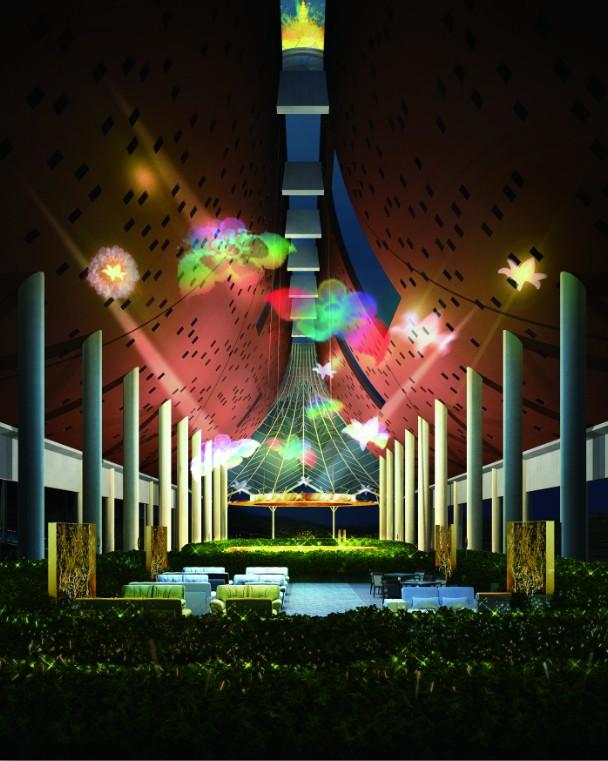 云南省西双版纳茶禅世界创意建筑概念性设计