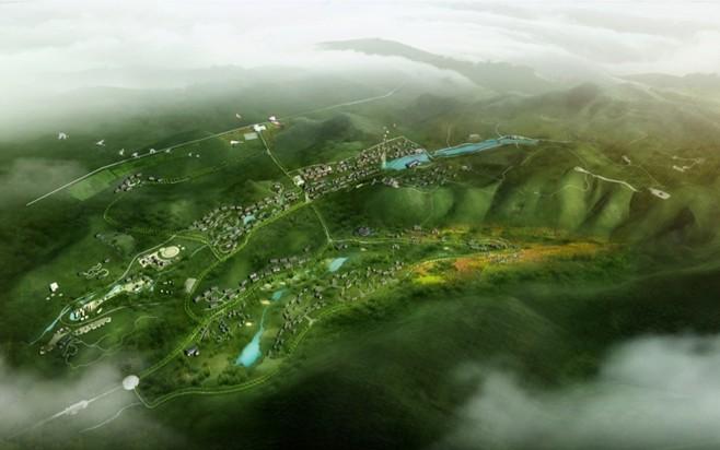 安徽省淮北市龙脊山风景区概念性规划